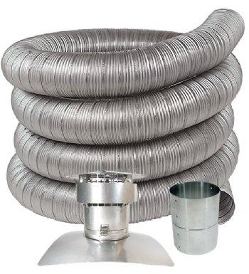 Stainless Steel Chimney Liner Kits For Oil Gas Amp Pellet